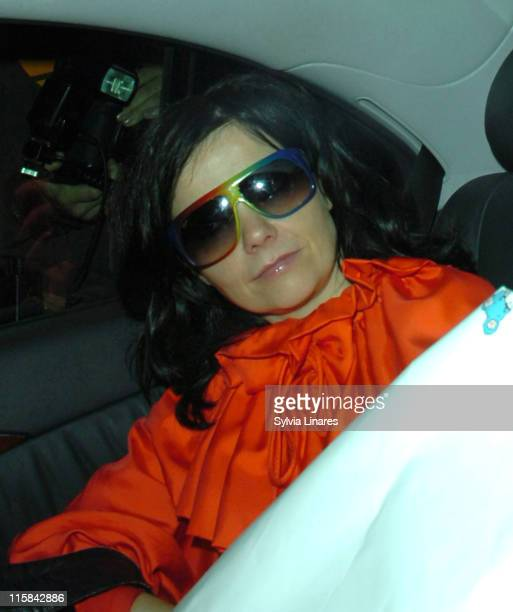 Bjork during MOJO Honours List 2007 Departures at The Brewery in London Great Britain