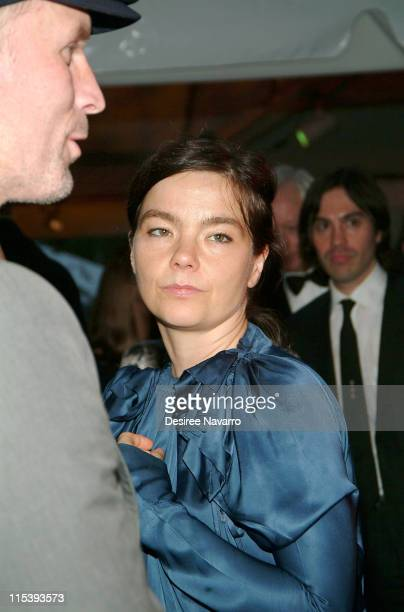 Bjork during The 37th Annual Party in the Garden Honoring David Rockefeller's 90th Birthday at The Museum of Modern Art in New York City New York...