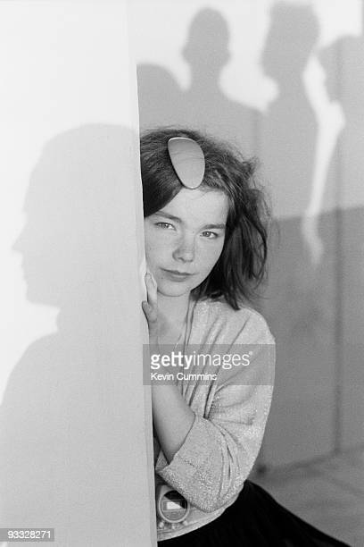 Bjork lead singer with Icelandic band The Sugarcubes in San Francisco on August 16 1988