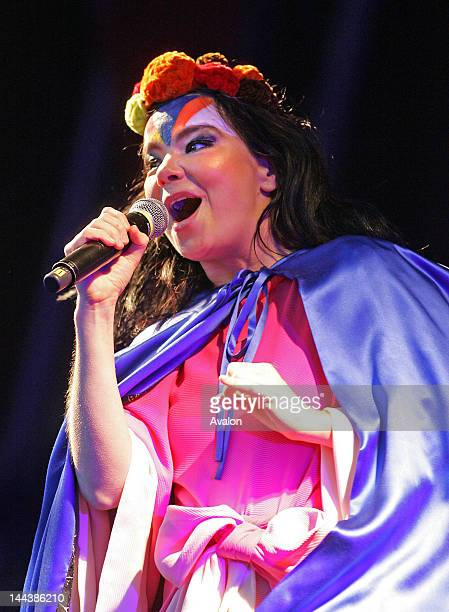 Bjork performing live at The Connect Festival 2007 at Inveraray Castle in Argyll Scotland 2nd September 2007 Job 31702 Ref ZB2854_166545_057DFL /...