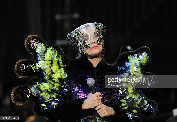 Bjork performs during 2015 Governors Ball Music Festival at Randall's Island on June 6 2015 in New York City