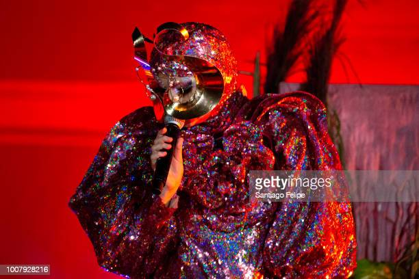 Bjork performs onstage at Terme di Caracalla on July 30 2018 in Rome Italy