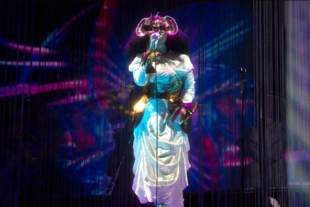 DNK: Bjork Performs In Copenhagen