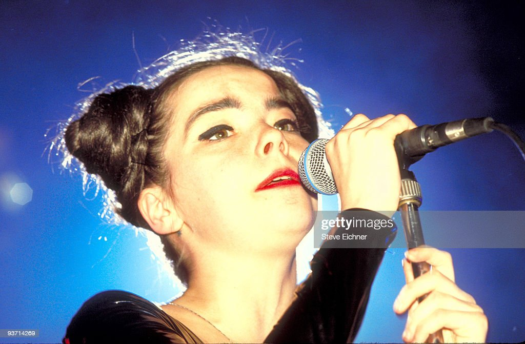 Bjork in Concert at Roseland - 1992 : News Photo