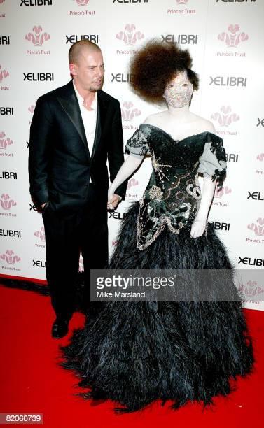 Bjork with Alexander McQueen
