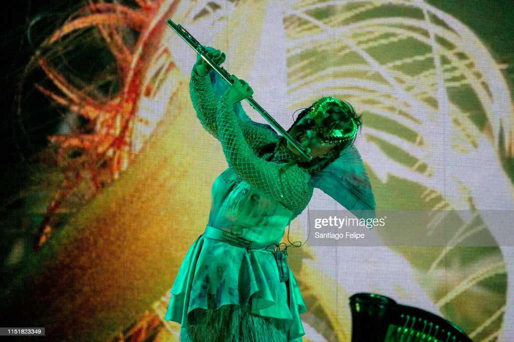 "NY: Bjork Performs In ""Cornucopia"" Concert Series In New York City"