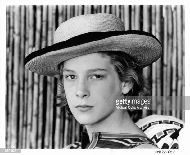 Bjorn Andresen plays Tadzio in a scene from the film 'Death In Venice' 1971