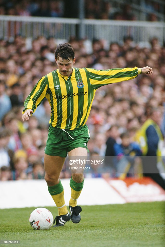 Bjorn 'Benny' Kristensen of Newcastle United in action during a match between Sunderland and Newcastle at Roker Park on May 13, 1990 in Sunderland, England.