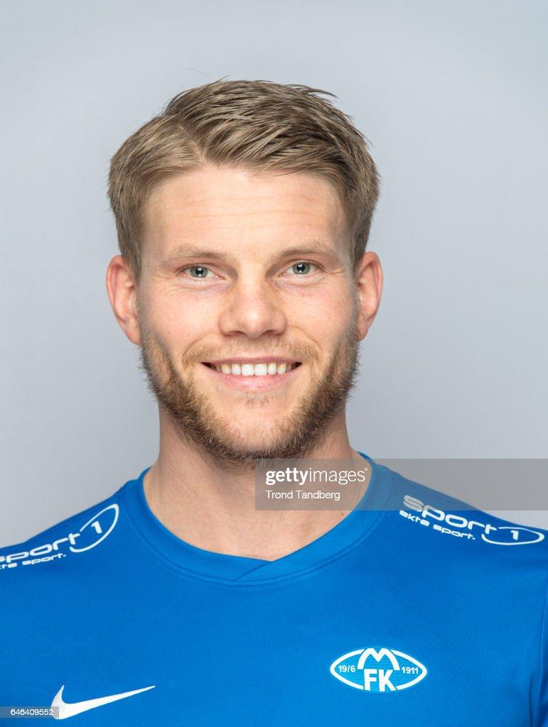 Bjorn Bergmann Sigurdarson of Team Molde FK Photocall on February 21, 2017 in Molde, Norway.