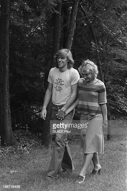 Bjorn Borg And His Bride Mariana Simionescu.