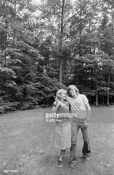Bjorn Borg And His Bride Mariana Simionescu
