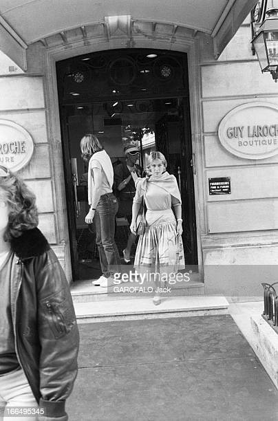 Bjorn Borg And His Bride Mariana Simionescu Prepare Their Marriage. Paris, 3 juin 1980, le champion de tennis Bjorn BORG et sa fiancée Mariana...