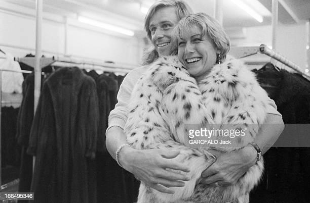 Bjorn Borg And His Bride Mariana Simionescu Prepare Their Marriage Paris 3 juin 1980 le champion de tennis Bjorn BORG et sa fiancée Mariana...