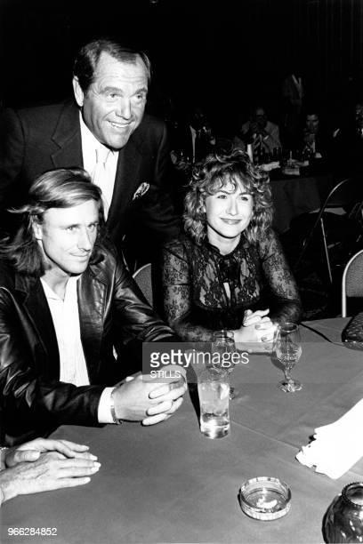 Bjorn Borg et sa femme Mariana Simionescu au 'Alan King Celebrity Tennis Tournament' au Caesar Palace de Las Vegas le 25 avril 1982 Las Vegas...
