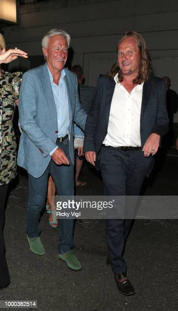 Bjorn Borg seen attending Mamma Mia Here We Go Again UK film premiere afterparty at Hammersmith Apollo on July 16 2018 in London England