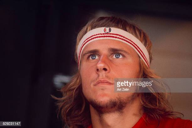 Bjorn Borg Tennis star circa 1970 New York
