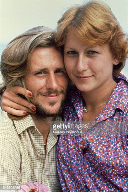 Bjorn Borg with his wife Mariana Simionescu.