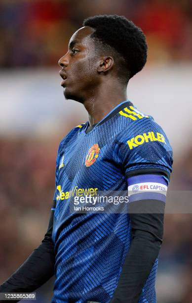Bjorn Hardley of Manchester United during the Papa John's Trophy match between Sunderland and Manchester United at Stadium of Light on October 13,...