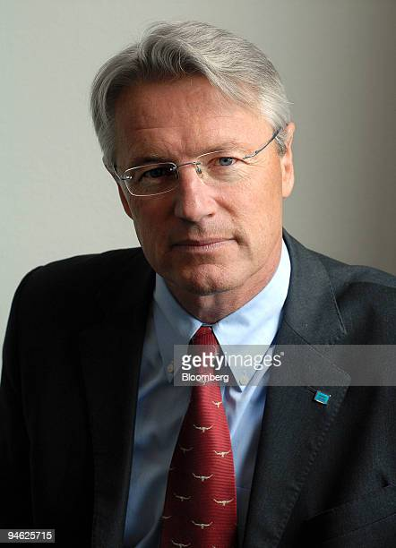 Bjorn Rosengren executive vicepresident of Atlas Copco poses in his office in Stockholm Sweden Thursday June 1 2006 Photographer Anna...