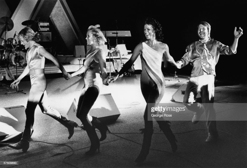 ABBA In Concert : News Photo
