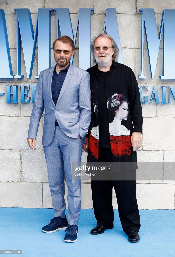 """Mamma Mia! Here We Go Again"" - UK Premiere - Red Carpet Arrivals : ニュース写真"