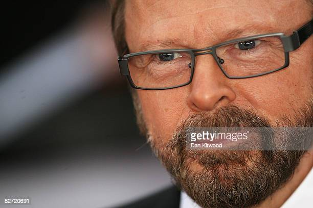 Bjorn Ulvaeus arrives at the National Movie Awards at the Royal Festival Hall on September 8 2008 in London England