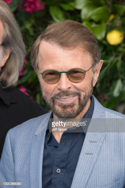 Bjorn Ulvaeus attends the UK Premiere of Mamma Mia Here We Go Again at Eventim Apollo on July 16 2018 in London England