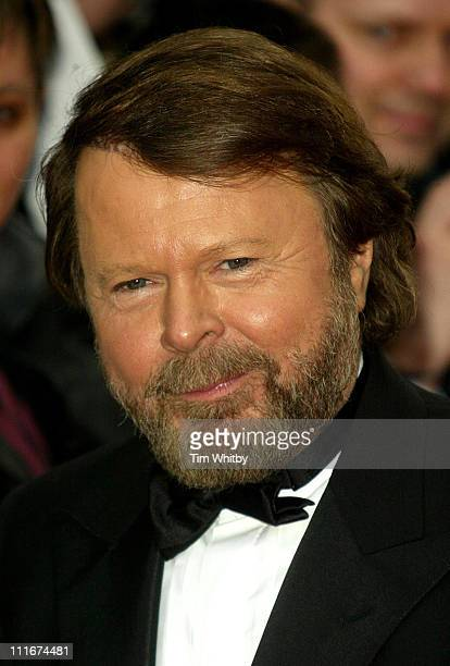 Bjorn Ulvaeus of ABBA during Mamma Mia The Musical Celebrates Its Fifth Anniversary Arrivals at Prince Edward Theatre in London Great Britain