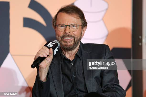 Bjorn Ulvaeus speaks onstage at Featured Session: Creator Credits: Providing the Missing Links during the 2019 SXSW Conference and Festivals at...