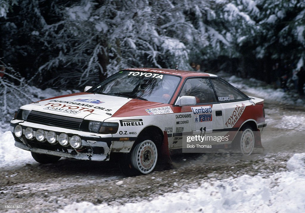 Bjorn Waldegaard And Fred Gallagher - Toyota - RAC Rally Pictures ...
