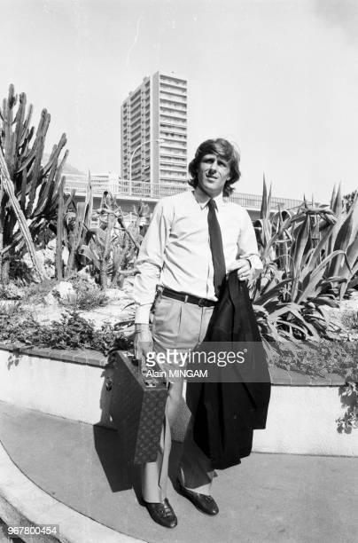 Björn Borg, ancien tennisman et homme d'affaires, à Monte-Carlo le 24 mars 1983, Monaco.