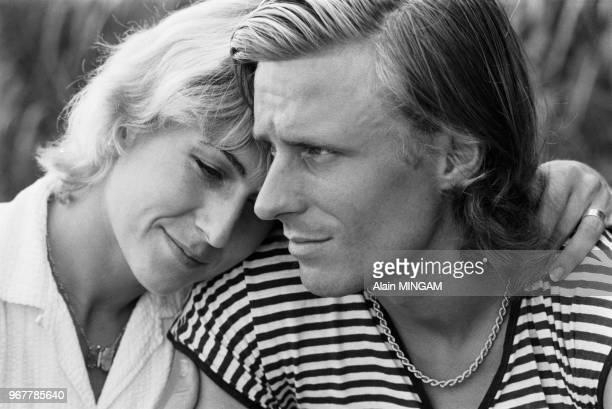 Björn Borg et Mariana Simionescu préparent leur mariage à Bucarest le 21 juillet 1980, Roumanie.
