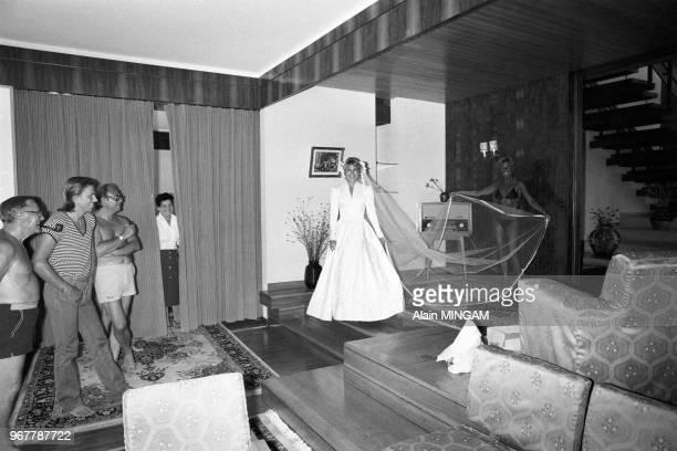 Björn Borg et Mariana Simionescu préparent leur mariage à Bucarest le 21 juillet 1980 Roumanie