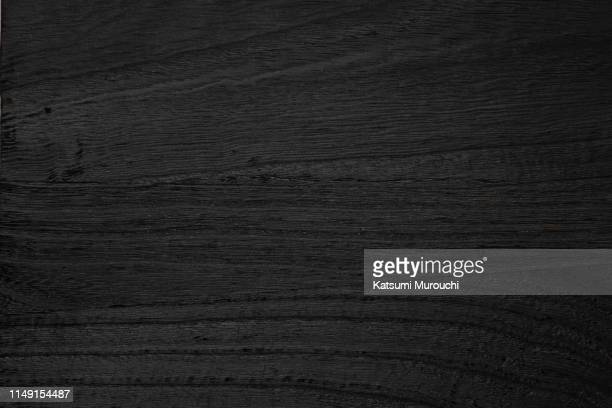 bkack wood board texture background - legno foto e immagini stock