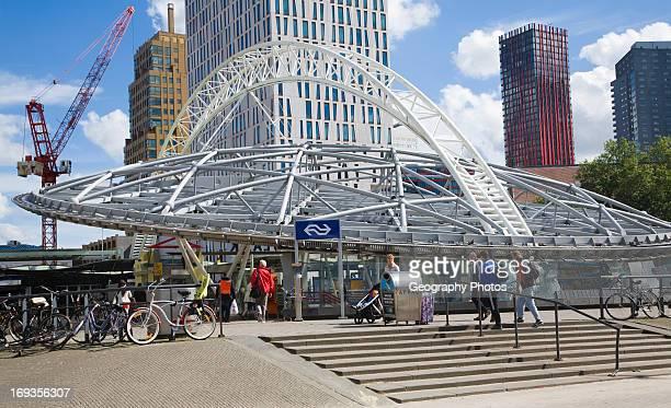 Blaak metro station central Rotterdam South Holland Netherlands