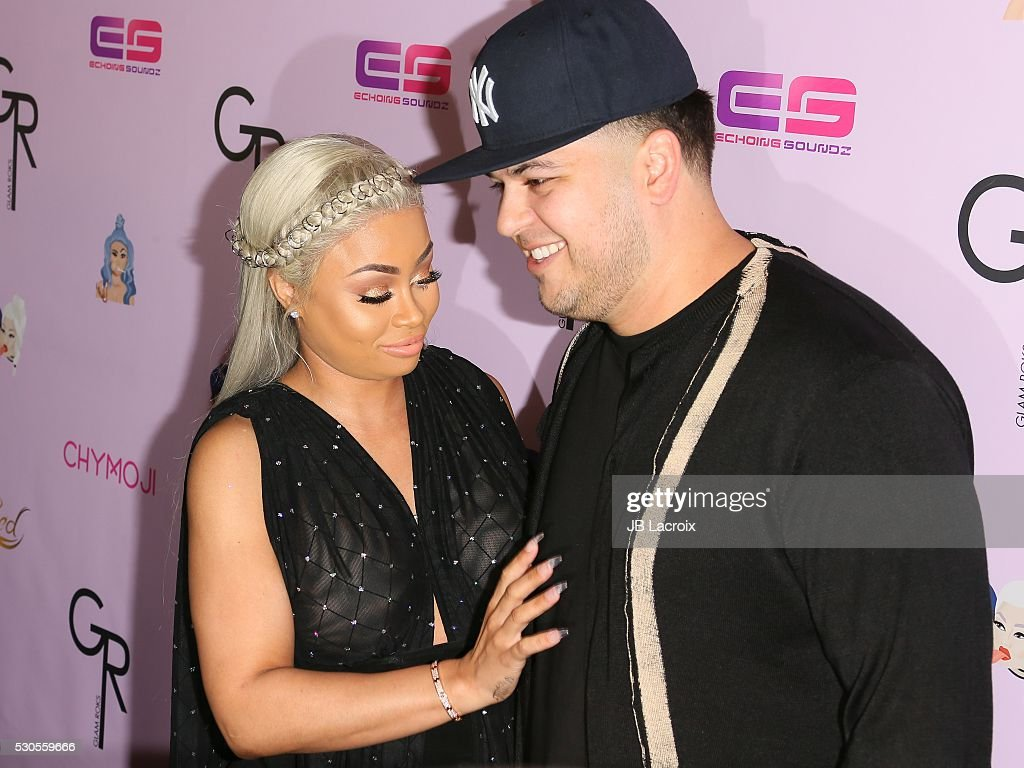 "Blac Chyna Birthday Celebration And Unveiling Of Her ""Chymoji"" Emoji Collection : News Photo"