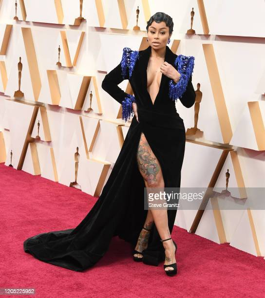 Blac Chyna arrives at the 92nd Annual Academy Awards at Hollywood and Highland on February 09 2020 in Hollywood California