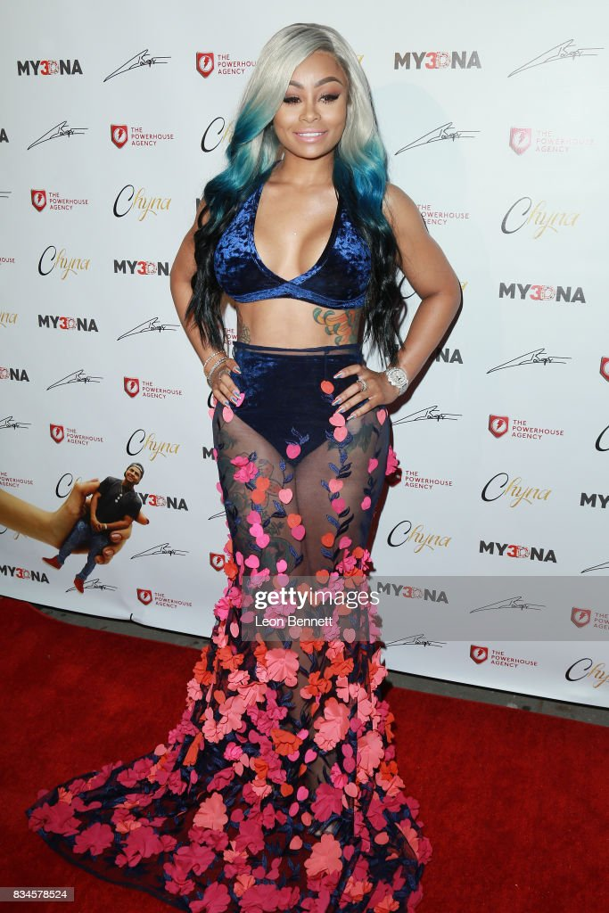 Blac Chyna attends Blac Chyna Figurine Doll Launch on August 17, 2017 in Los Angeles, California.