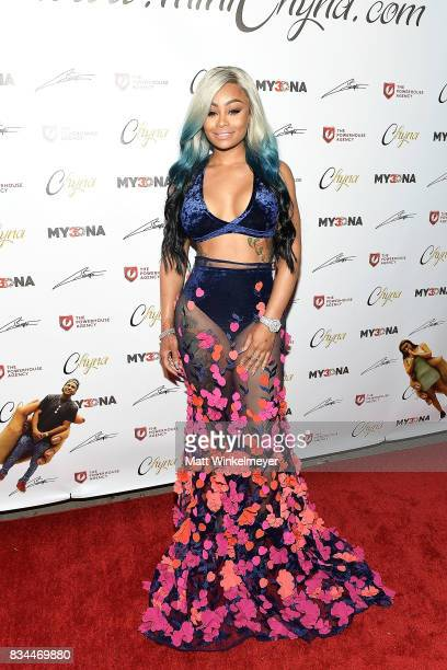 Blac Chyna attends her figurine dolls launch on August 17 2017 in Los Angeles California