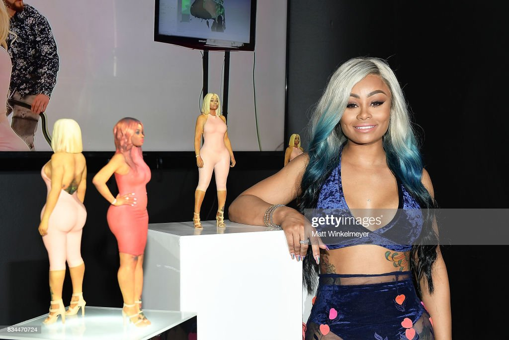 Blac Chyna attends her figurine dolls launch on August 17, 2017 in Los Angeles, California.