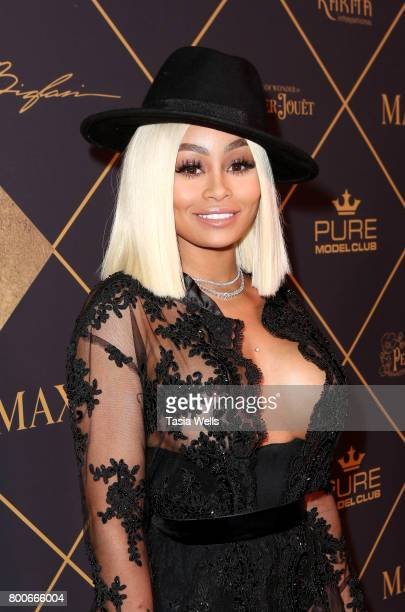 Blac Chyna attends the 2017 MAXIM Hot 100 Party at Hollywood Palladium on June 24 2017 in Los Angeles California