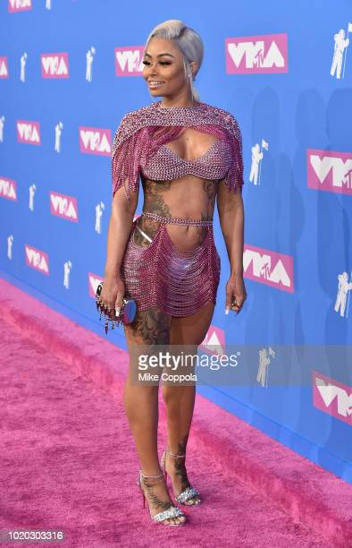 Blac Chyna attends the 2018 MTV Video Music Awards at Radio City Music Hall on August 20 2018 in New York City