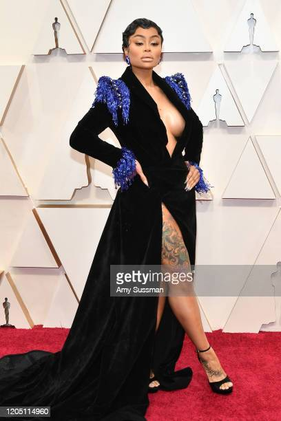 Blac Chyna attends the 92nd Annual Academy Awards at Hollywood and Highland on February 09 2020 in Hollywood California