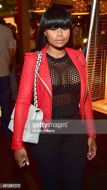Blac Chyna enter caption here at Sofitel Hotel on June 26 2014 in Los Angeles California