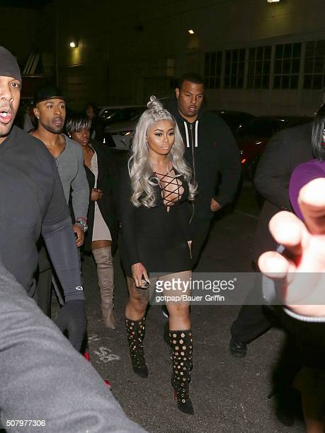 Blac Chyna is seen on February 01 2016 in Los Angeles California