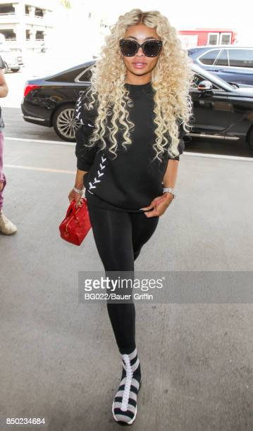 Blac Chyna is seen on September 20 2017 in Los Angeles California