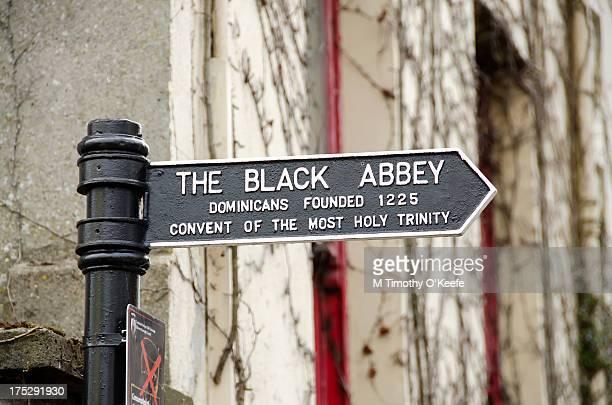 Black Abbey Sign Kilkenny Ireland