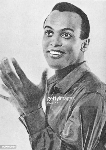 Black american singer Harry Belafonte WIth his song Banana Boat Song he made the calypso popular
