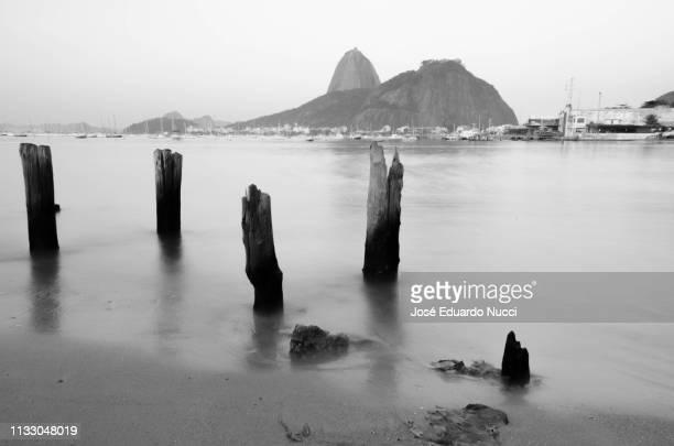 Black an white from Botafogo Beach