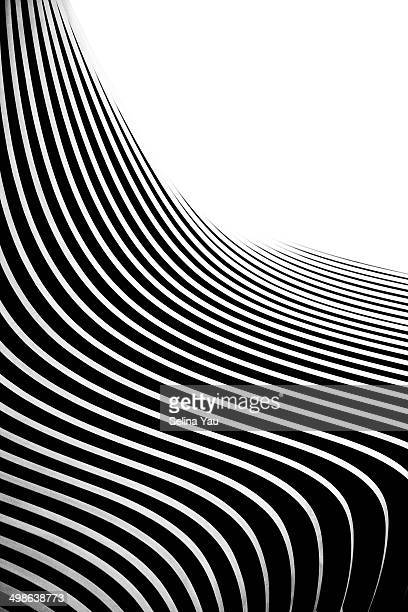 Black and White Architectural Curves